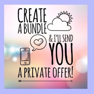 Create a bundle for a special discount